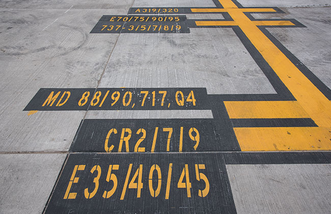 Airfield marking