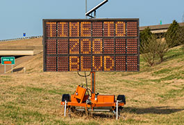 Electronic traffic message signs