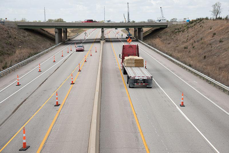 Highway traffic control