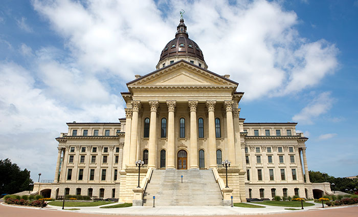 kansas state capitol building