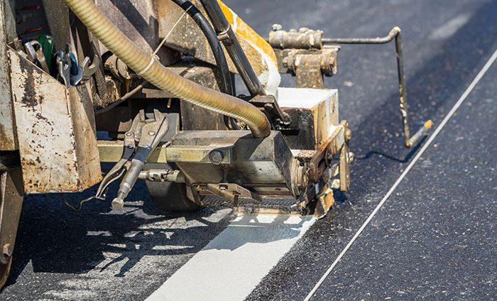 Thermoplastic pavement marking