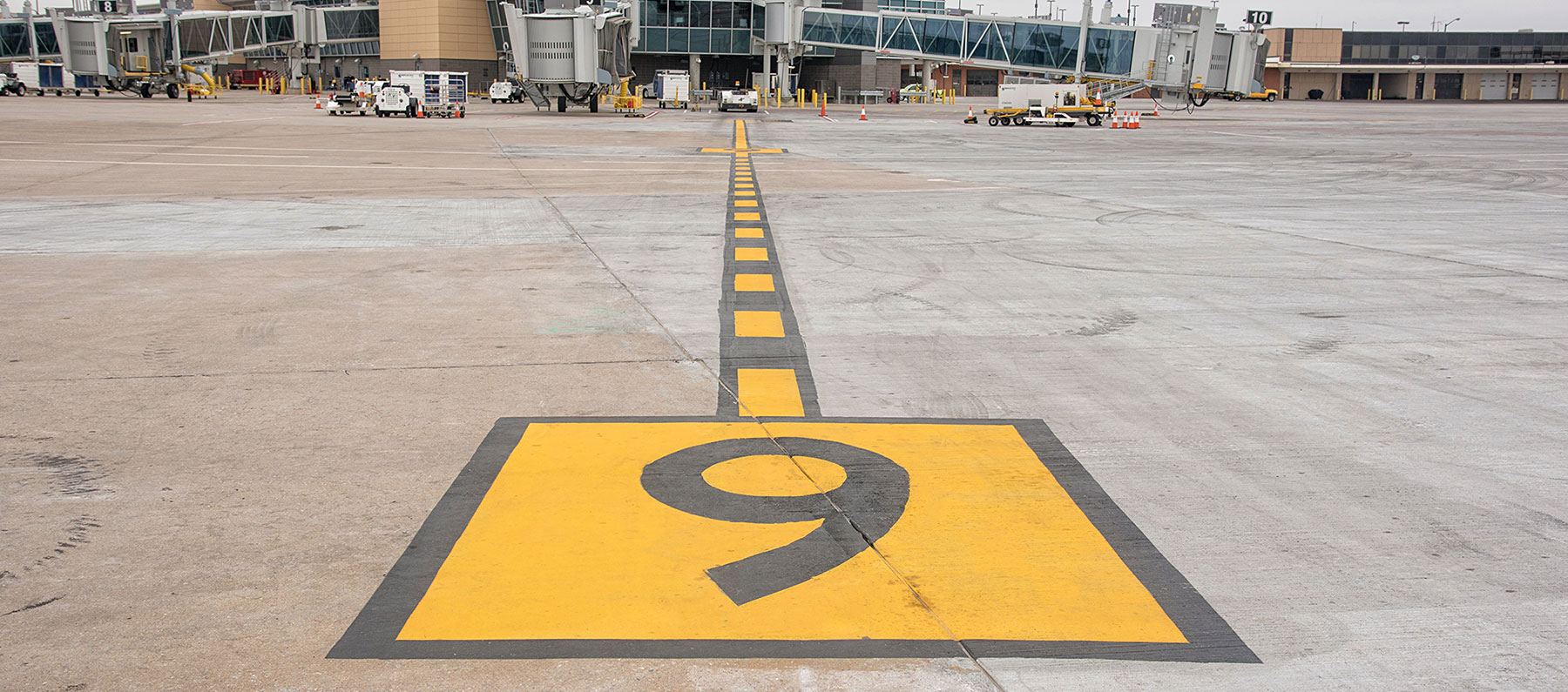 airfield pavement marking and striping