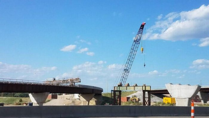 Kellogg ramp to I-235 closed Monday