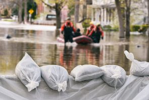 Sandbags for disaster response